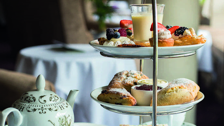 Afternoon tea offers in Redhill, Surrey at Nutfield Priory Hotel