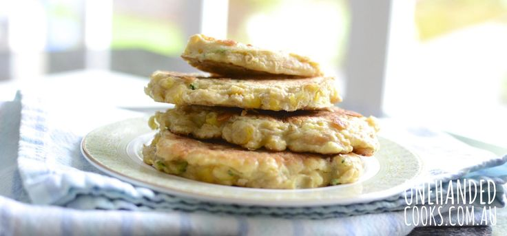 Vegetable fritters with your creative spin.