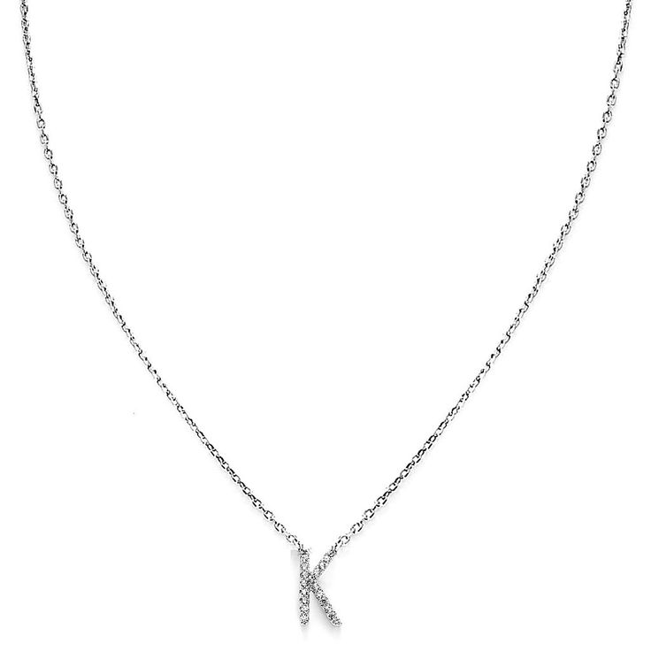 Your Initial K Necklace