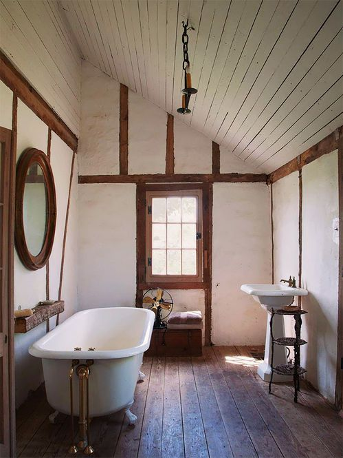 Except with a hammered copper tub