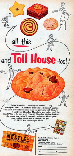 Toll House- love the graphics on the chocolate chip bag!