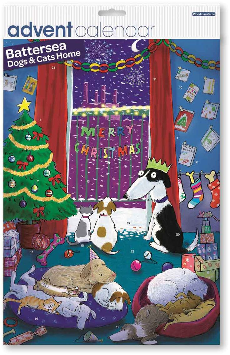 Battersea Dogs Home Chocolate Advent Calendar