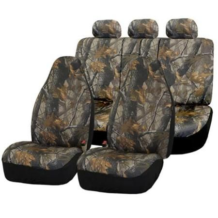 fh group hunting camouflage airbag safe car seat covers full set voitures housses de si ge. Black Bedroom Furniture Sets. Home Design Ideas
