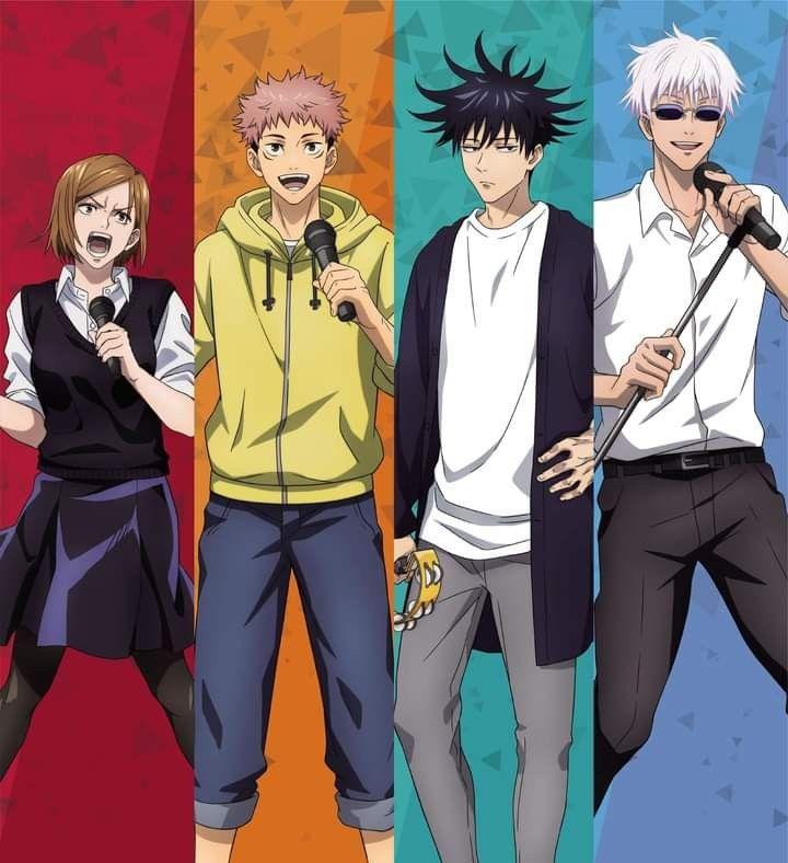 Jujutsu Kaisen In 2021 Jujutsu Anime Shows Anime Characters