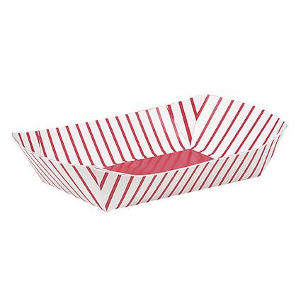 Paper Snack Trays 4 Pk Party Supplies Canada - Open A Party