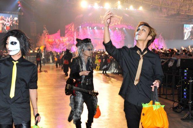 Makuhari Day 3 #VAMPS #KAZ #VampsHalloweenParty2016 #HalloweenParty2016 #HalloweenParty