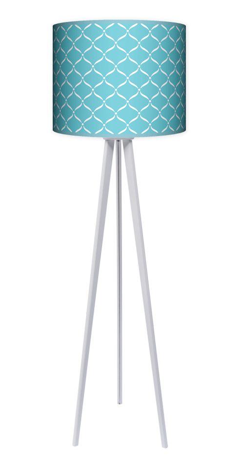 Lampa stojąca Niebieska Laguna