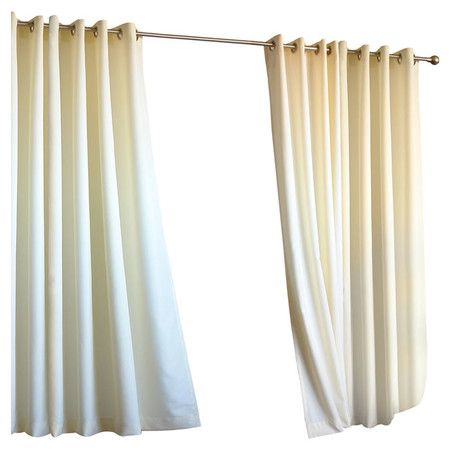 Found it at Wayfair - Outdoor Gazebo Curtain Panel in Natural