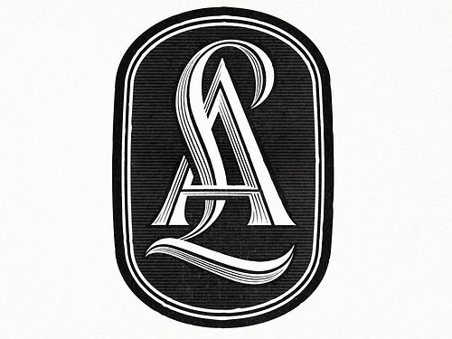 Typeverything.com - LetterAlley Monogram by Ged Palmer