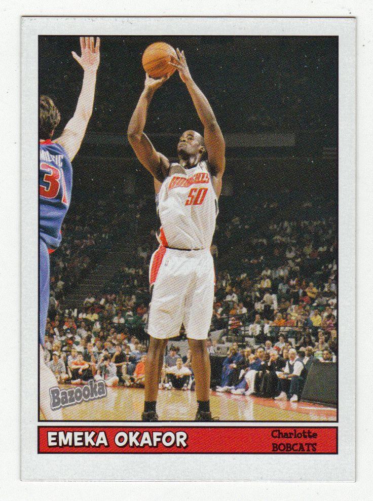 Emeka Okafor # 70 - 2005-06 Topps Baz Basketball Mini's