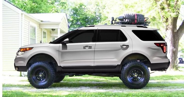 2017 Ford Explorer on 35 tires in 2020 Ford explorer