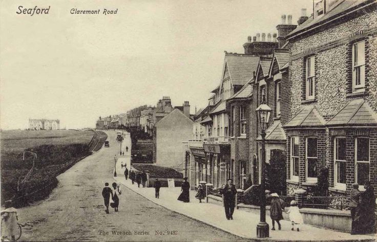 This is Claremont Road Seaford which at the time was the main road from Seaford to Newhaven