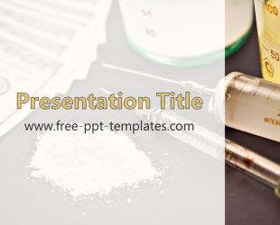Drugs PowerPoint Template is a white template with appropriate background image which you can use to make an elegant and professional PPT presentation. This FREE PowerPoint template is perfect for presentations about consequences of drug use, for campaigns, school projects etc.