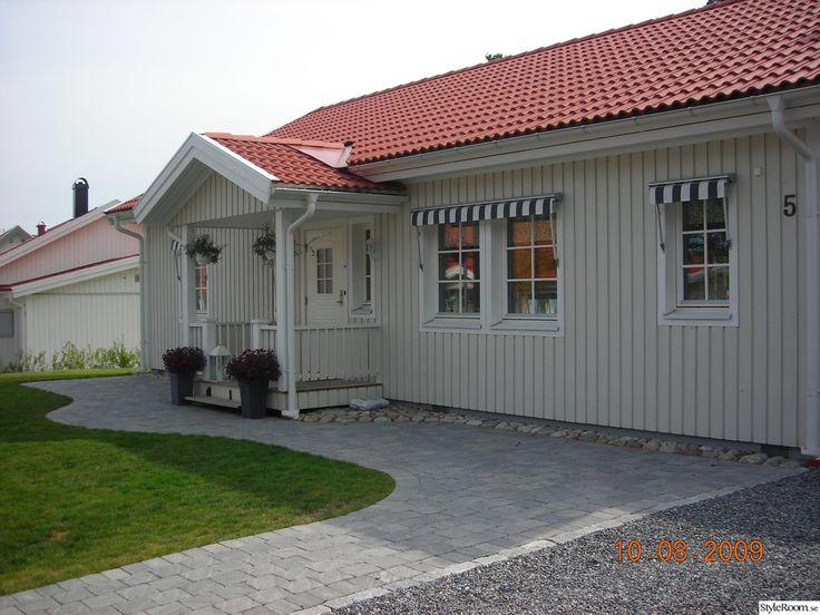framsidan av huset