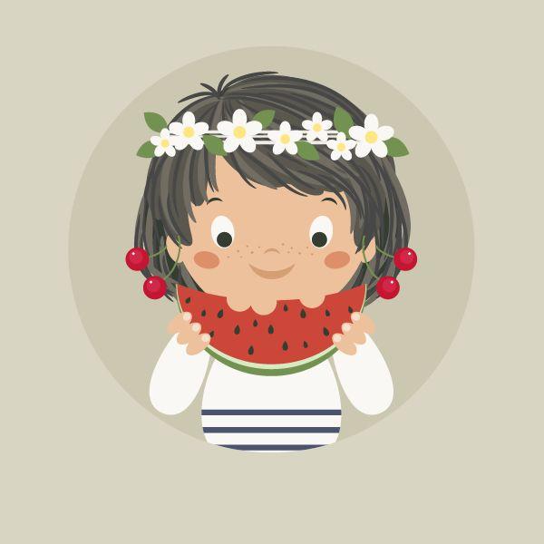 How to Create a Summer Girl Illustration in Adobe Illustrator