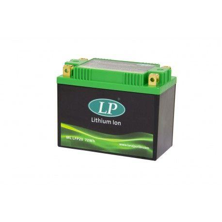 La batteria Landport Lithium 12V 6Ah, con tecnologia LiFePO4, è più leggera rispetto alle tradizionale batterie al piombo/acido ed in grado di offrire performance di spunto ed un numero di cicli di vita notevolmente superiori rispetto alle batterie tradizionali sia durante lo stoccaggio, grazie ad una ridotta autoscarica, sia per cicli di carica/scarica.