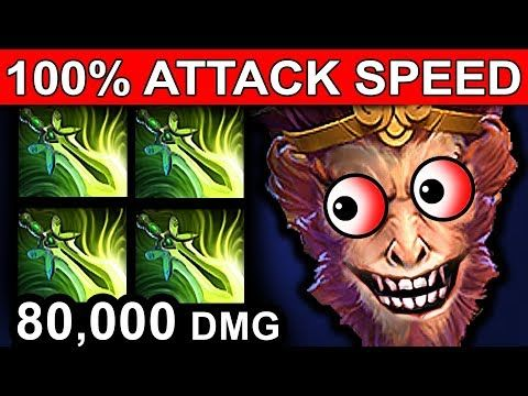 BUTTERFLY MONKEY KING - DOTA 2 PATCH 7.07 NEW META PRO GAMEPLAY