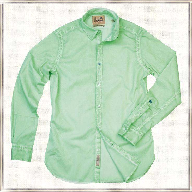 Halibut Shirt - Light Green Ghost