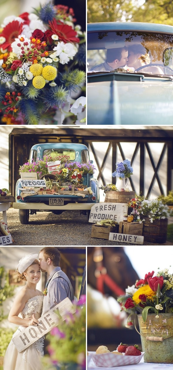 Country Wedding Inspiration by Terra Dawn Photography   Style Me Pretty