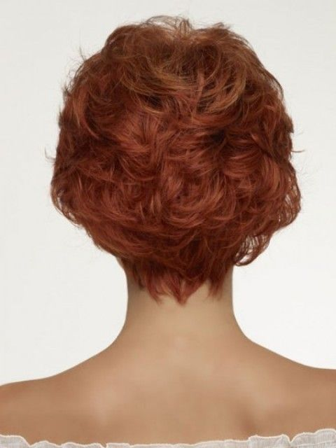Brown Short Hairstyles For Older Women Above 40 And 50 2
