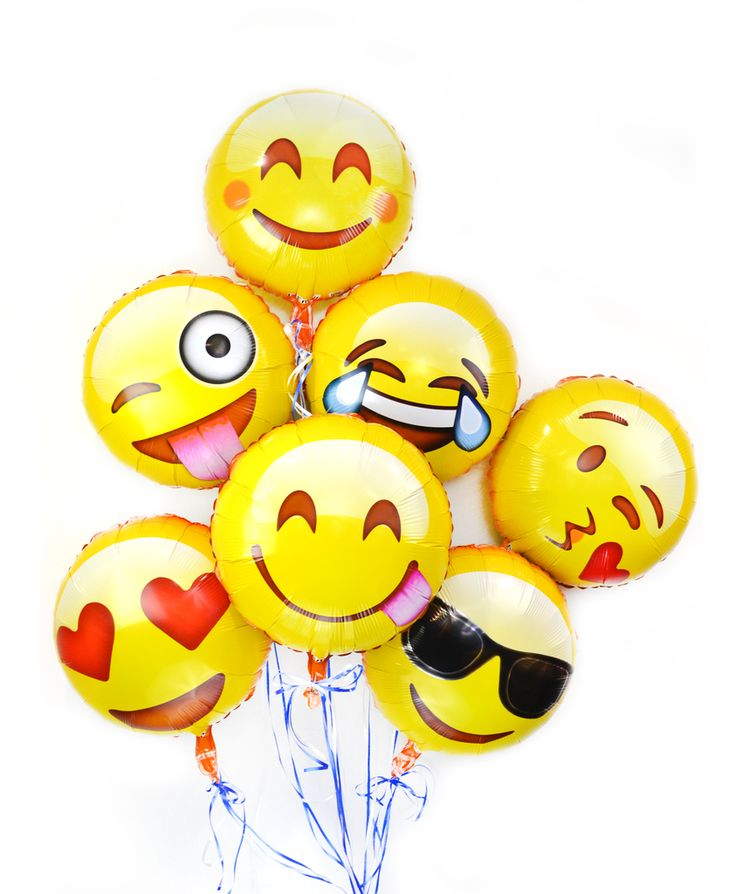 It's party time with this fun emoji helium balloons variety pack! Guaranteed to liven up social events and bring smiles. Fast shipping from the USA.