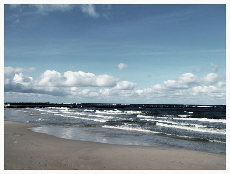 Baltic sea in sunny September