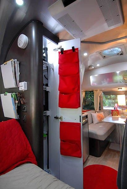 Inside the Airstream Bambi - When the kids don't camp anymore!