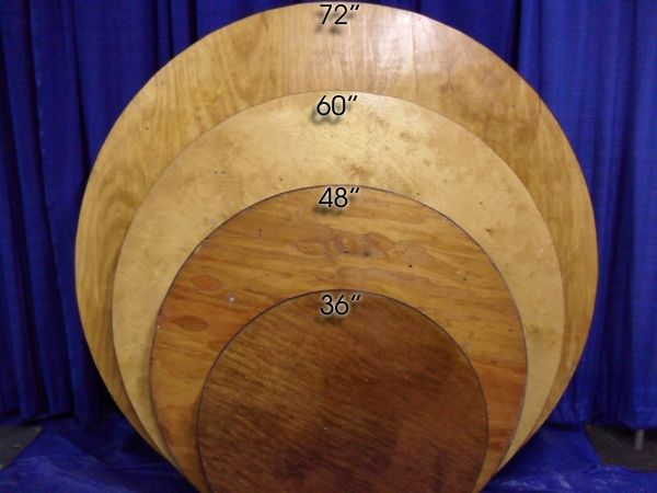 Round Tables That You Can Rent For Your Special Event. A Way You Can  Decorate
