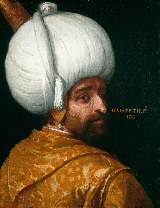 Sultan Bayezid I - Sultan of the Ottoman Empire, 1389-1403.