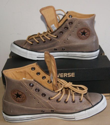 CONVERSE CHUCK TAYLOR MOTORCYCLE JACKET HI AUTHENTIC MEN'S 11 - NEW - Ebay - Pin Swag (shared via SlingPic)
