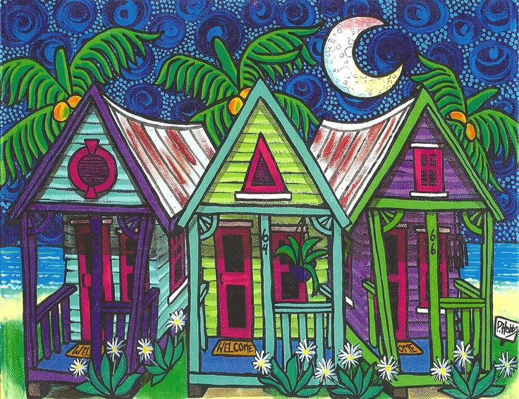 """conch houses"" by hobbs art"