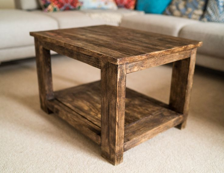 Coffee Table - Reclaimed Wood Coffee Table - Rustic Coffee Table