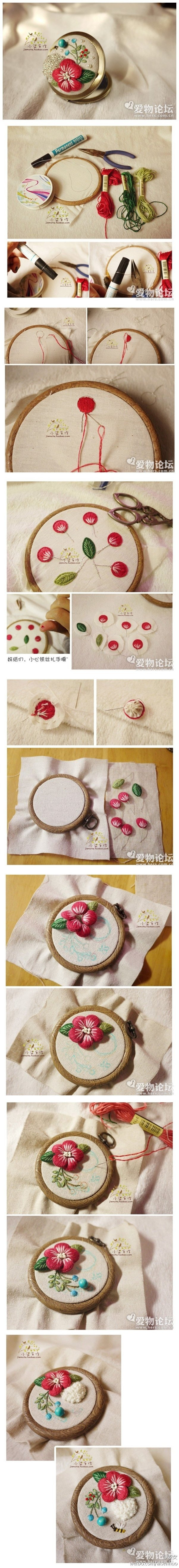 How To 3d Embroidery