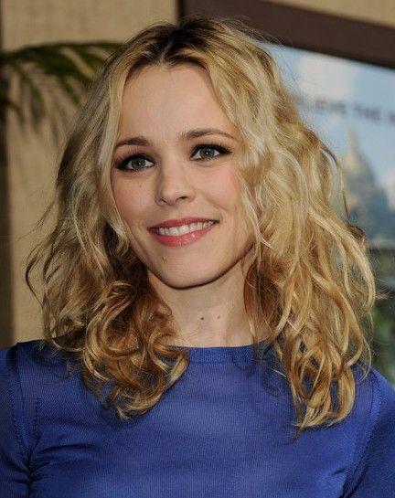 Rachel McAdams Long Curly Hairstyles