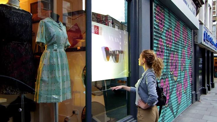 Interactive Window Display with Gesture Control on Vimeo
