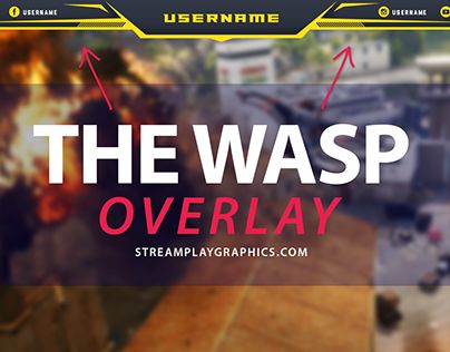 """Check out new work on my @Behance portfolio: """"Twitch Overlay - The Wasp"""" http://be.net/gallery/34231103/Twitch-Overlay-The-Wasp"""
