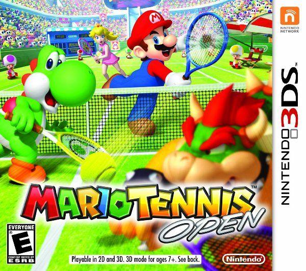 Mario Tennis Open. Nintendo 3DS. Número de préstamos: 18
