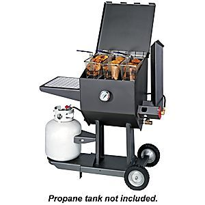 Cajun Fryer by R & V Works 8.5 Gallon Propane Cooker Deep Fryer | Bass Pro Shops: The Best Hunting, Fishing, Camping & Outdoor Gear