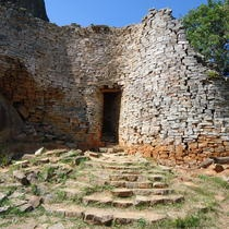 UNESCO World Heritage site of Great   Zimbabwe which is a ruined city that was the capital of the Kingdom of   Zimbabwe during the country's Late Iron Age.  ©Graciela Gonzalez Brigas Amazing history!