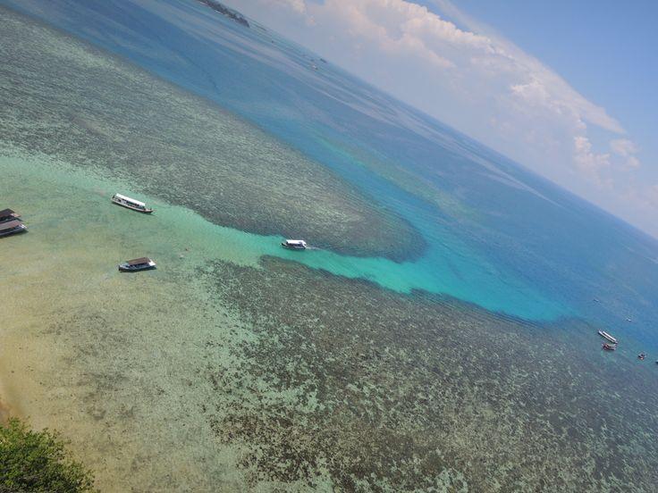 Pulau lengkuas Belitung Indonesia