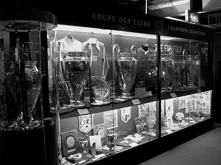 History doesn't lie... the Anfield trophy cabinet! #LFC #5Times