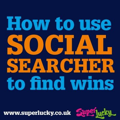Finding wins with Social Searcher