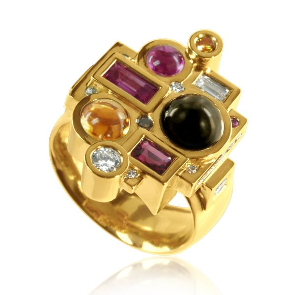 Bague Carambole saphir étoilé #tournaire #jewels #spring #marelie #jewelry #color