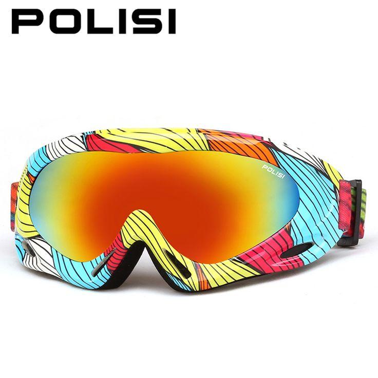 POLISI Children Kids Ski Goggles