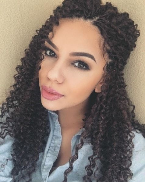 From Poker Straight Crochet Braid Styles To Tight Coiled