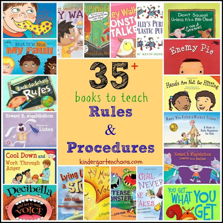 Books to Teach Rules and Procedures