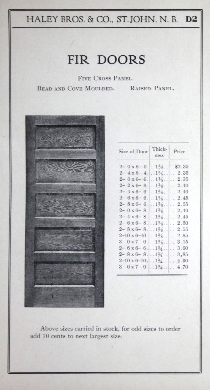 Fir Doors 1917. Haley Brothers From the Association for Preservation Technology (APT) & 44 best Doors: A Catalog History images on Pinterest | Online ... pezcame.com