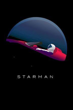 starman spacex tesla Mugs, Artwork, Wallpaper
