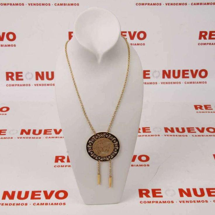 Collar de oro con motivos greco E266855B # Collar Greco# de segunda mano# Joyas