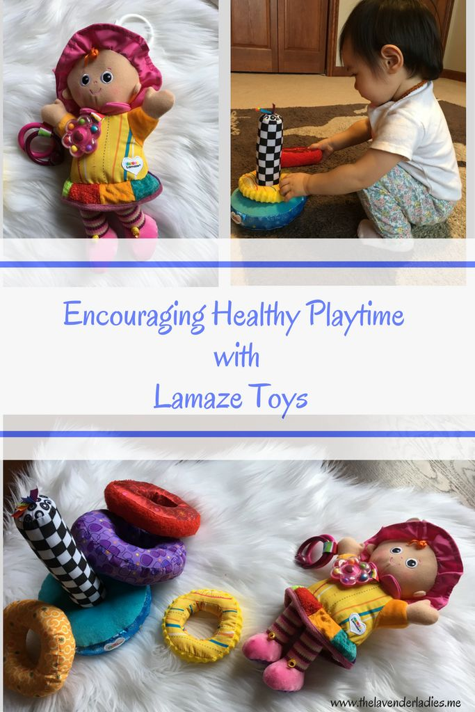 Encouraging Healthy Playtime with Lamaze Toys - The Lavender Ladies
